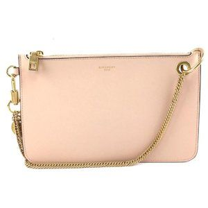 Givenchy Shopper Pouch Gold Nude Chain Bag